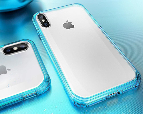 Mkeke iPhone Xs Clear Case