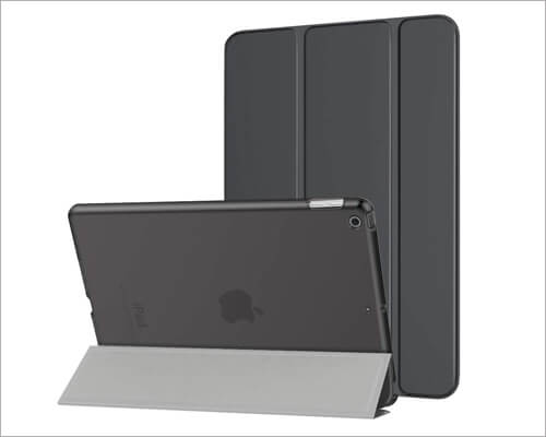 MoKo 10.2 inch iPad Translucent Frosted Back Case