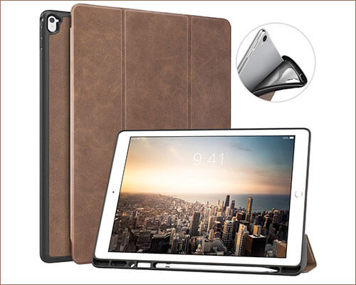 MoKo Leather Case for iPad Pro 12.9-inch 2015-2017