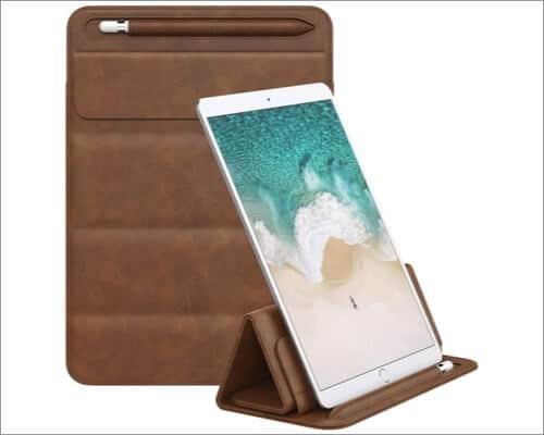 MoKo PU Leather Sleeve for iPad Pro 11-inch 4th Gen
