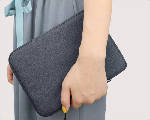 MoKo Polyester Pouch Sleeve for iPad Mini 5