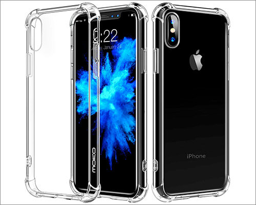 MoKo Transparent Case for iPhone Xs