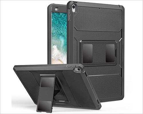MoKo iPad Pro 10.5-inch Heavy Duty Kickstand Case