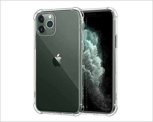 MoKo iPhone 11 Pro TPU Bumper Cheap Case