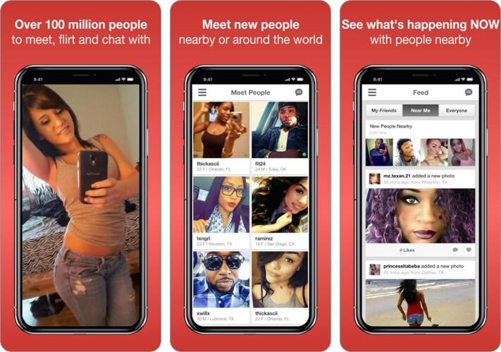 Moco Friendship App for iPhone Screenshot