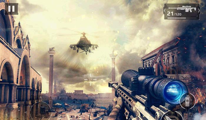 Modern Combat 5 - Blackout FPS iPhone and iPad Game Screenshot