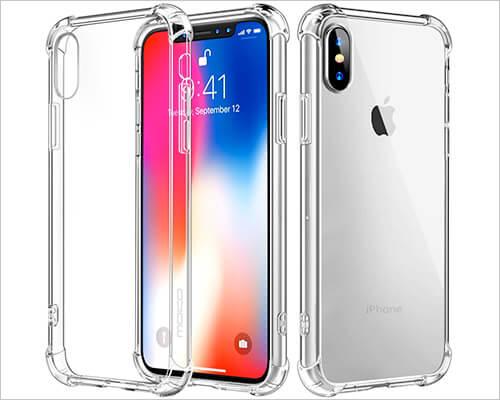 Moko iPhone X Clear Case