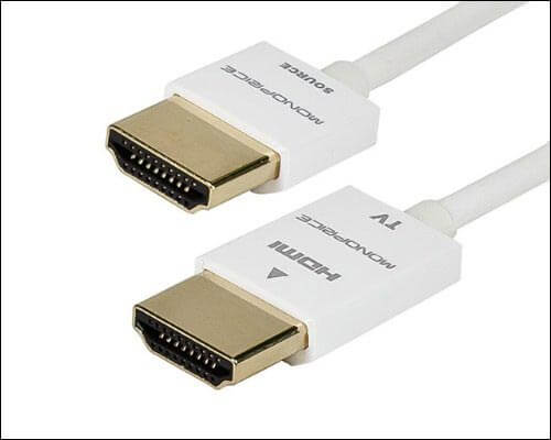 Monoprice 4K HDMI Cable for Apple TV 4K