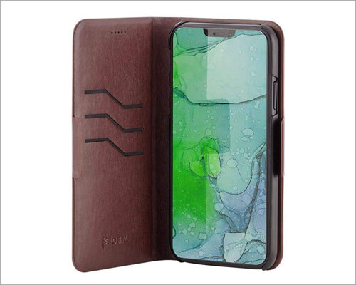 Monoprice PU Leather Executive Case for iPhone 11