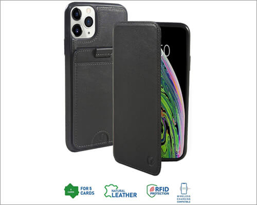 Monsoon Leather Folio Case for iPhone 11 Pro Max