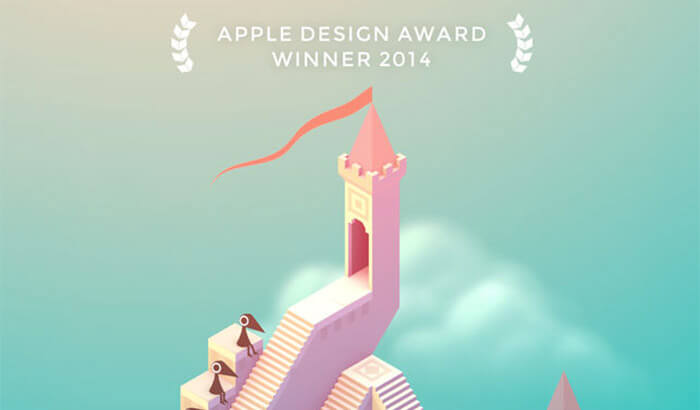 Monument Valley Paid iPhone Game Screenshot