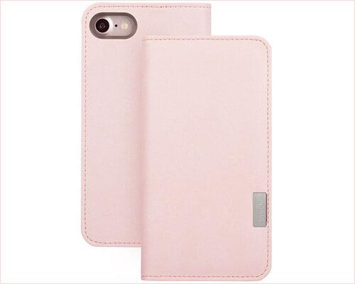 Moshi iPhone 8 Leather Case
