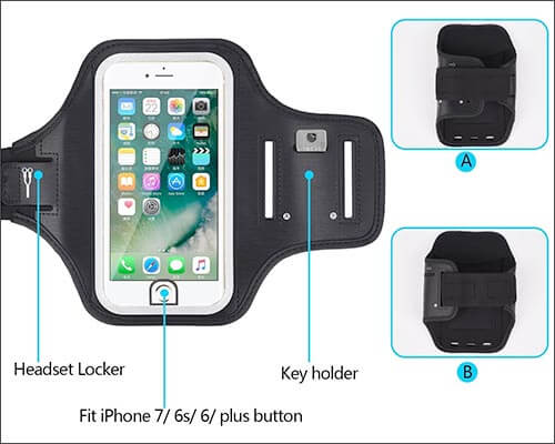 Mosica Armband for iPhone