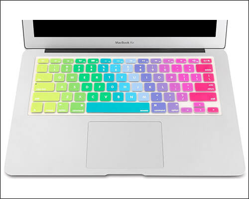 Mosiso Keyboard Cover Decal for MacBook 15-inch and 13-inch