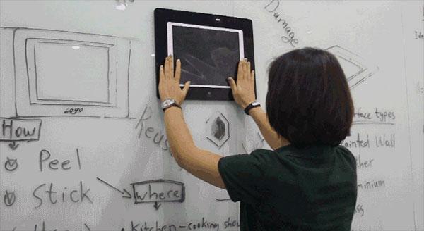 Mount iPad Air on Wall Using Stino