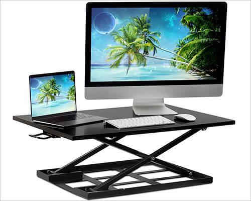 Mount-it! Standing Desk for MacBook, iMac, and Windows Desktop PC