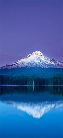 Mountain Reflection iPhone XS Wallpaper