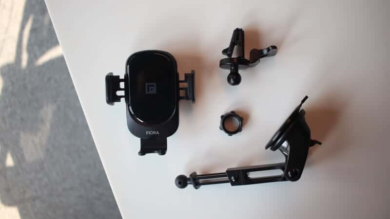 Mounting Options of Fiora Wireless Car Charger