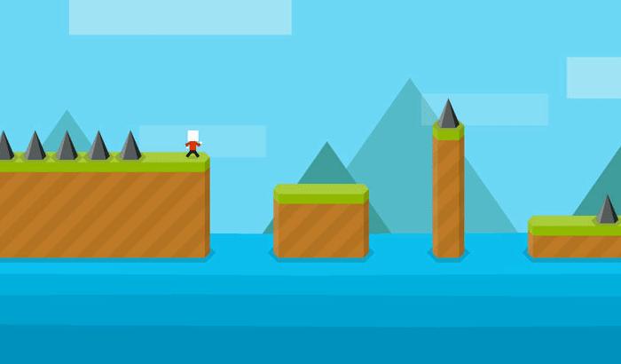 Mr Jump iPhone and iPad Game Screenshot