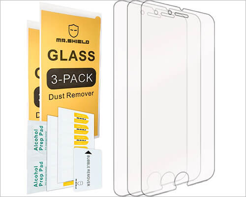 Mr Shield Glass Screen Protector for iPhone 6-6s Plus