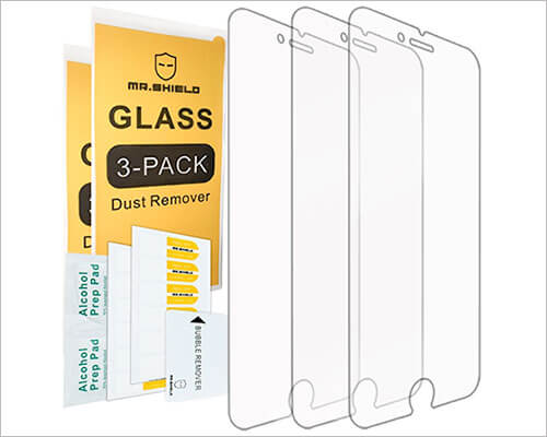 Mr Shield iPhone 7 Plus Tempered Glass Screen Protector