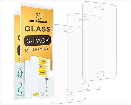Mr Shield iPhone SE Glass Screen Protector
