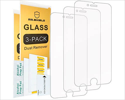 Mr. Shield Glass Screen Protector for iPhone 6-6s
