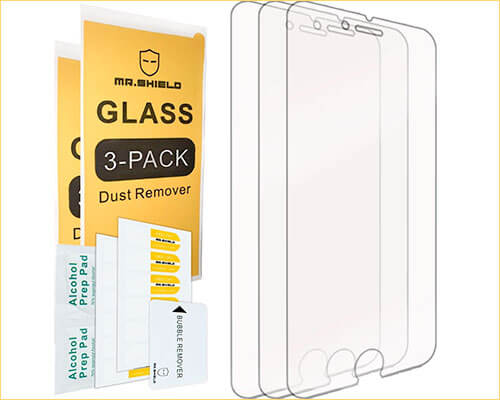 Mr. Shield iPhone 6 Plus Tempered Glass Screen Protector