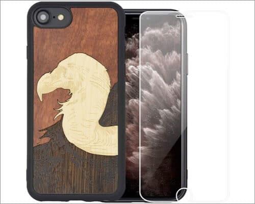 Mr.Artisan iPhone SE 2020 Wooden Case