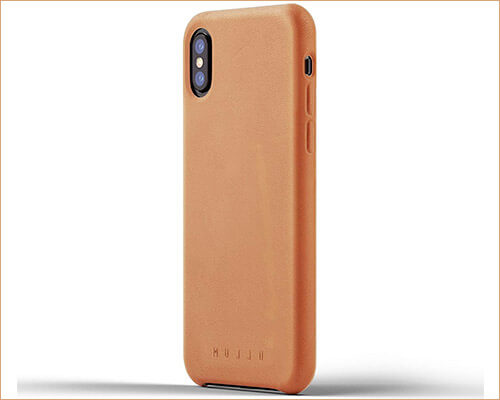 Mujjo Executive Case for iPhone Xs