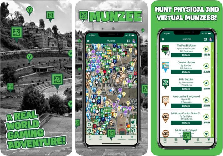 Munzee iPhone and iPad Game Screenshot