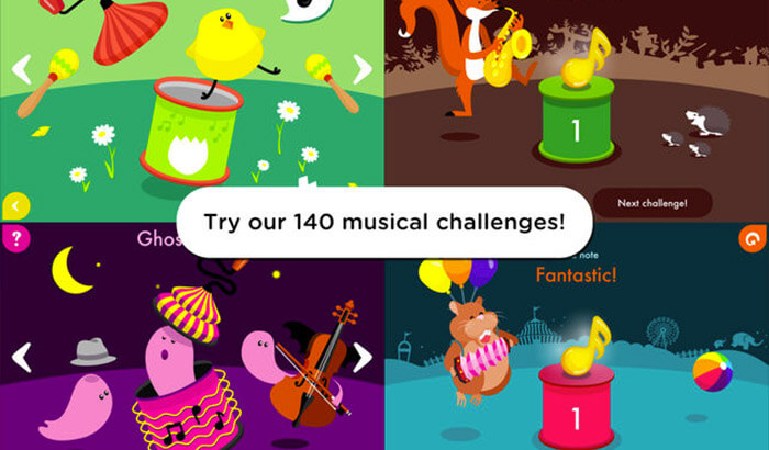 Music4Kids Educational iPhone Game Screenshot