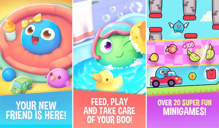 My Boo Virtual Pet iPhone and iPad App Screenshot