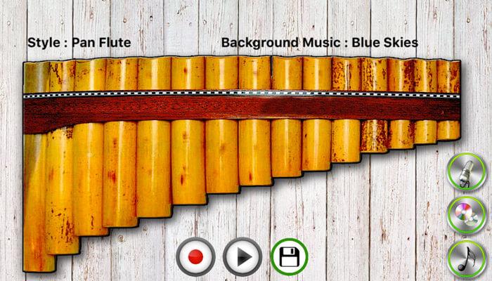 My Pan Flute iPhone and iPad App Screenshot