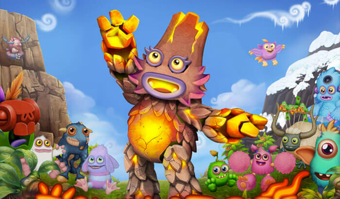 My Singing Monsters - Dawn of Fire iPhone and iPad Game Screenshot