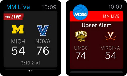 NCAA March Madness Live Apple Watch Sports App Screenshot