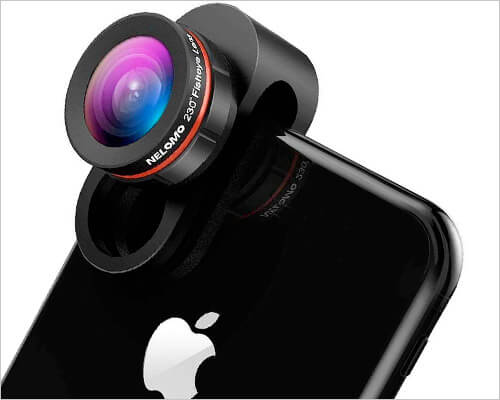 NELOMO Camera Lens for iPhone 6, 6s, 7, and 7 Plus