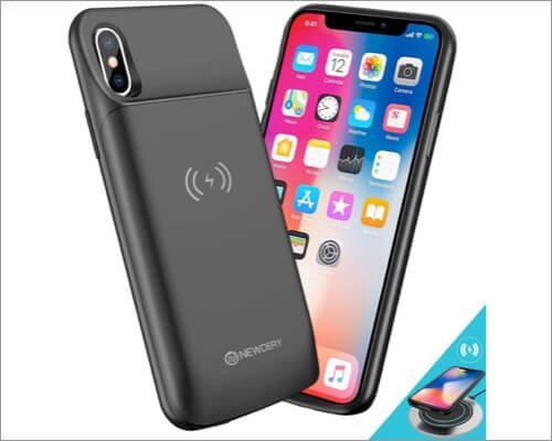 NEWDERY iPhone Xs Slim Battery Case