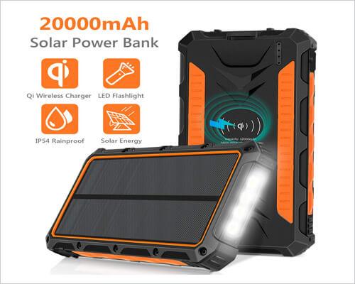 NEXGADGET Solar Charger for iPhone