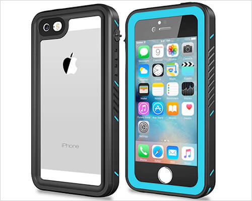 NINECRE iPhone SE and iPhone 5s Waterproof Case