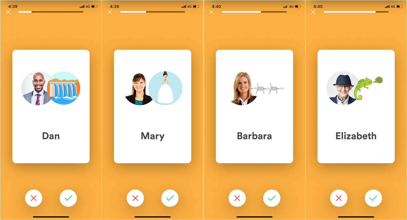 Name Skillz iPhone App to Remember Names