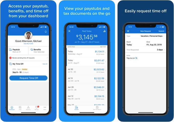 Namely HR Management iPhone App Screenshot