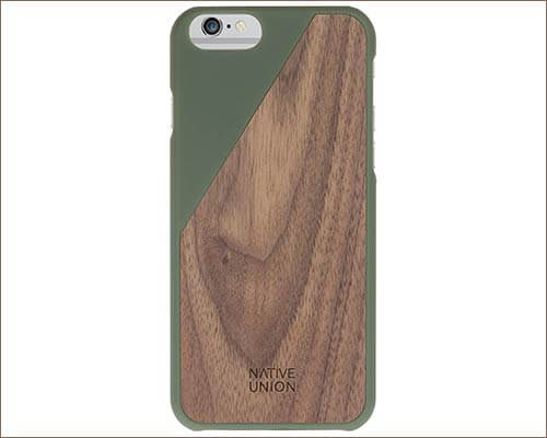 Native Union CLIC iPhone 6 Wooden Case