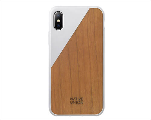 Native Union iPhone X Wooden Case