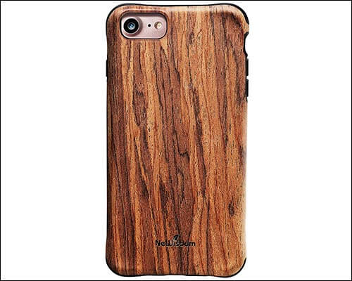 NeWisdom Wooden Case for iPhone 8