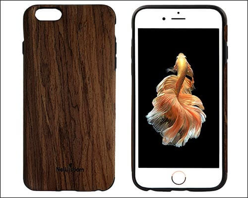 NeWisdom iPhone 6 Wooden Case
