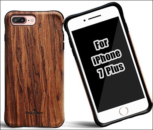 NeWisdom iPhone 7 Plus Wooden Case