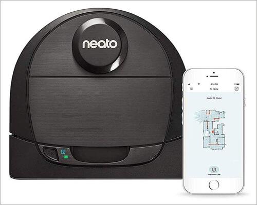 Neato Robotics D6 Wi-Fi Robot Vacuum for Large House