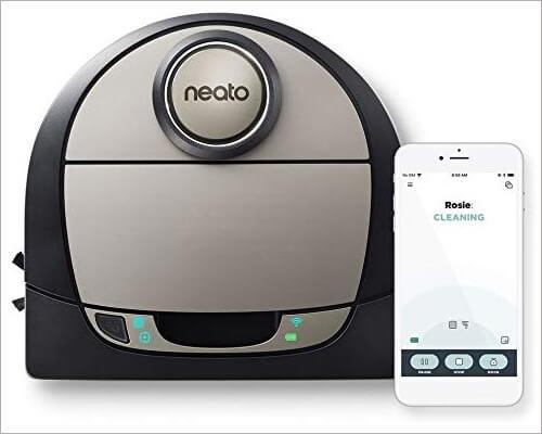 Neato Robotics Vacuum Cleaner for Pet Hair