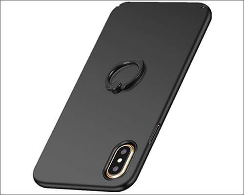 Neivi iPhone XR Ring Holder Case